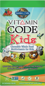 Garden of Life, Vitamin Code, для детей