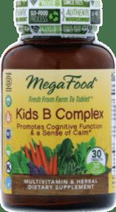 MegaFood, B-комплекс для детей