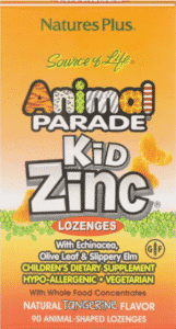 Nature's Plus, Source of Life, Animal Parade, Kid Zinc