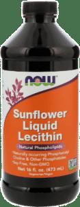 Now Foods, Жидкий лецитин из подсолнечника (п)