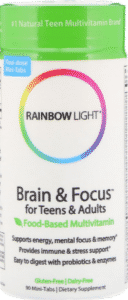 Rainbow Light, Brain & Focus для детей и взрослых
