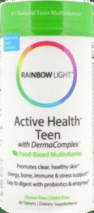 Rainbow Light, Мультивитамины для подростков