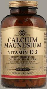 Solgar, Кальций и магний с витамином D3