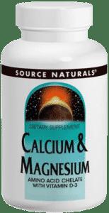 Source Naturals, Кальций и магний