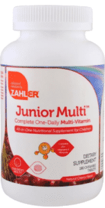 Zahler, Junior Multi, 180 табл.